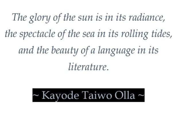 Of Language & Literature